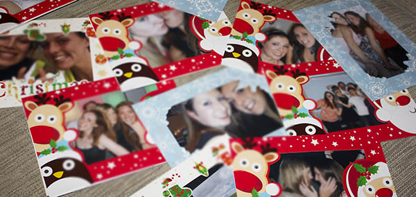 Festive Christmas Cards from Poundland