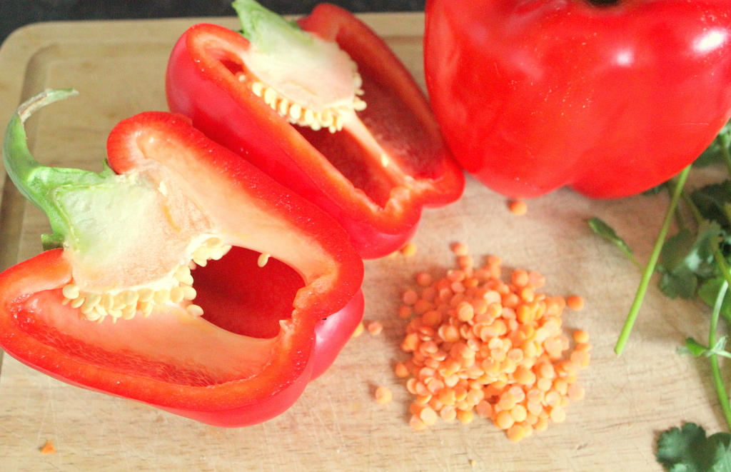 Red Pepper and Lentil Soup Recipe