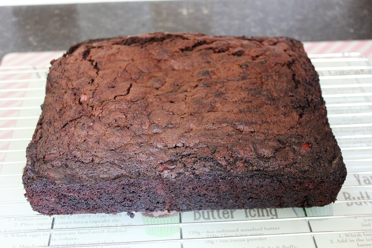 Chocolate courgette cake recipe